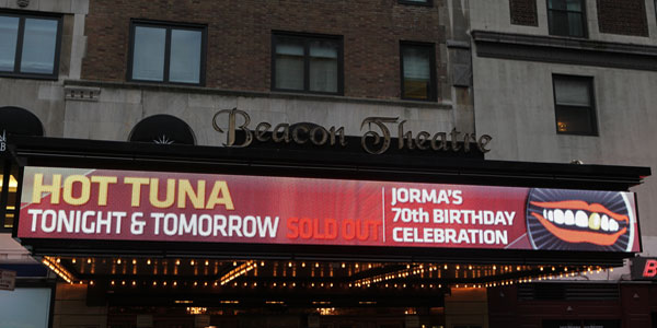 Beacon Theater Marquee