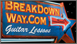 Break Down Way - Interactive Guitar Lessons